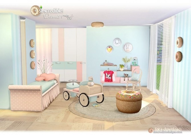 Donuts kidsroom at SIMcredible! Designs 4 image 7016 670x474 Sims 4 Updates