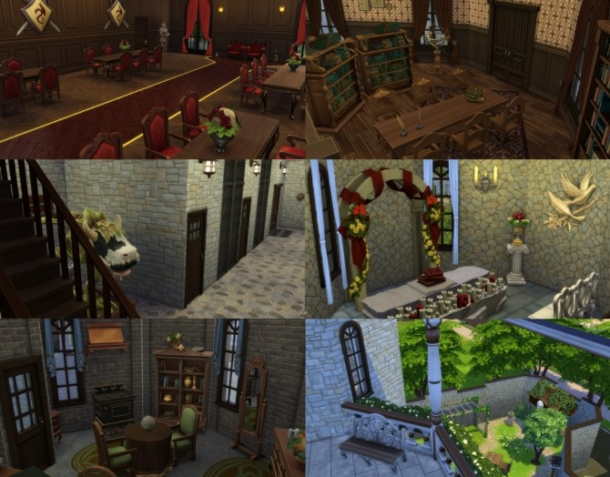 Sims 4 Classic Castle by bonensjaak at Mod The Sims
