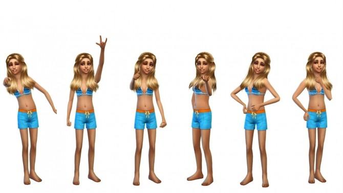 Sims 4 Cute Model Pose Pack at RomerJon17 Productions