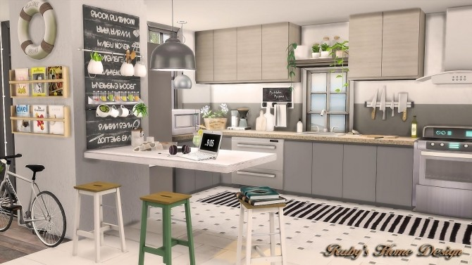 Scandinavian Retreat by Ruby Red at Ruby's Home Design image 713 670x377 Sims 4 Updates