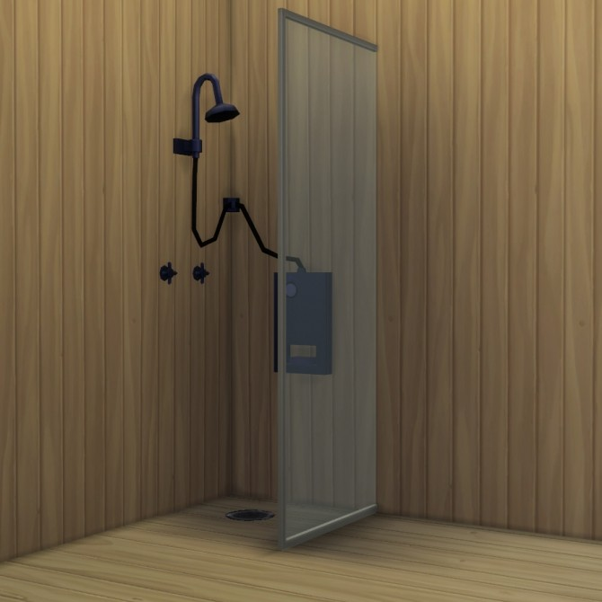 Sims 4 Build a Shower Kit by Madhox at Mod The Sims