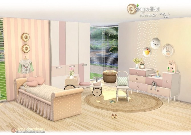 Donuts kidsroom at SIMcredible! Designs 4 image 7315 670x474 Sims 4 Updates