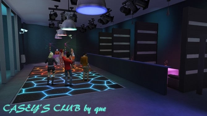 Sims 4 Caseys Club by quiescence90 at Mod The Sims