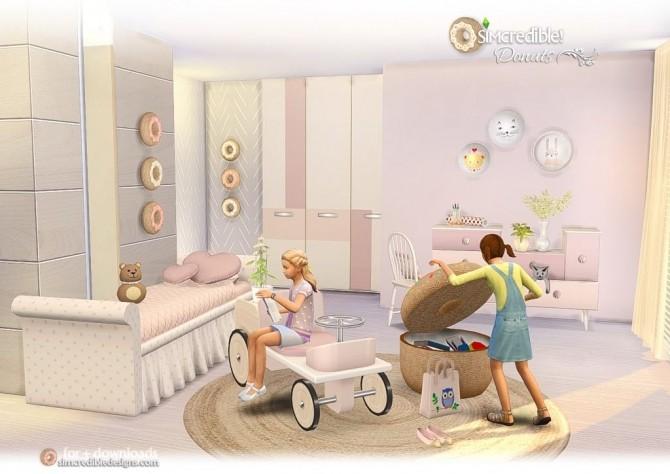 Sims 4 Donuts kidsroom at SIMcredible! Designs 4