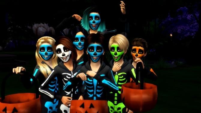 Sims 4 Halloween Pose Pack at RomerJon17 Productions