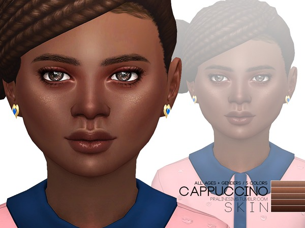 PS Cappuccino Skin by Pralinesims at TSR image 750 Sims 4 Updates