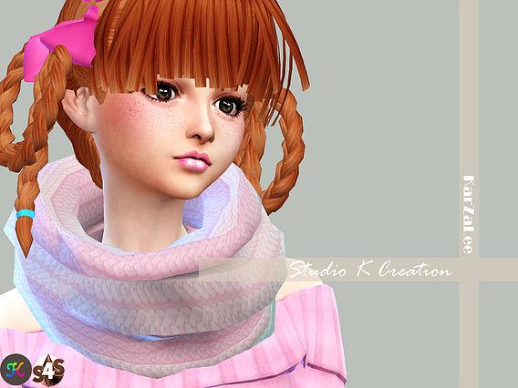 Infinity Scarf at Studio K Creation image 756 Sims 4 Updates