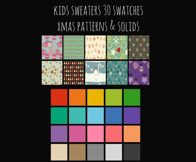Kid Sweaters at Maimouth Sims4 image 7616 670x553 Sims 4 Updates