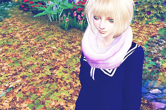 Infinity Scarf at Studio K Creation image 776 Sims 4 Updates