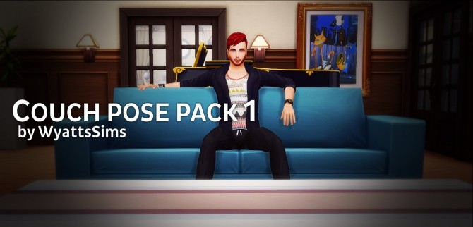 Couch Pose Pack 1 by WyattsSims at SimsWorkshop image 783 670x322 Sims 4 Updates