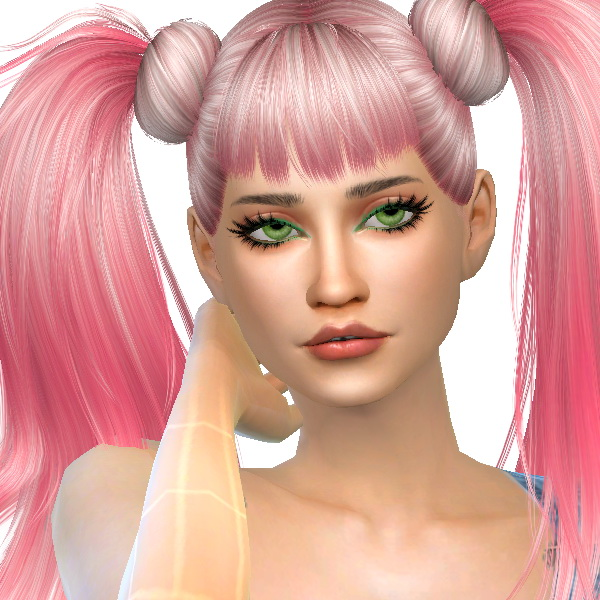 Sims 4 Anto Asia hair recolors at Dachs Sims