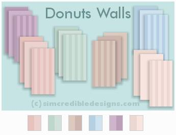 Donuts kidsroom at SIMcredible! Designs 4 image 7915 Sims 4 Updates