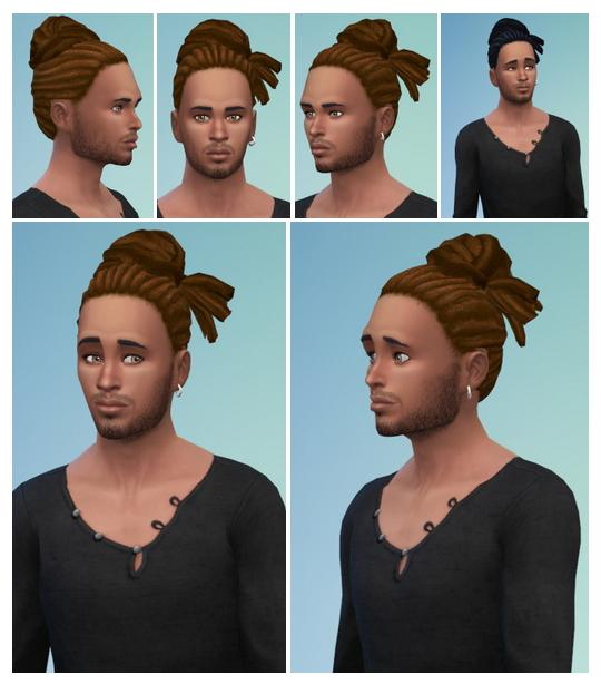 Sims 4 Careless Dreads at Birksches Sims Blog