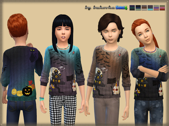 Sims 4 Spooky Sweater at Bukovka