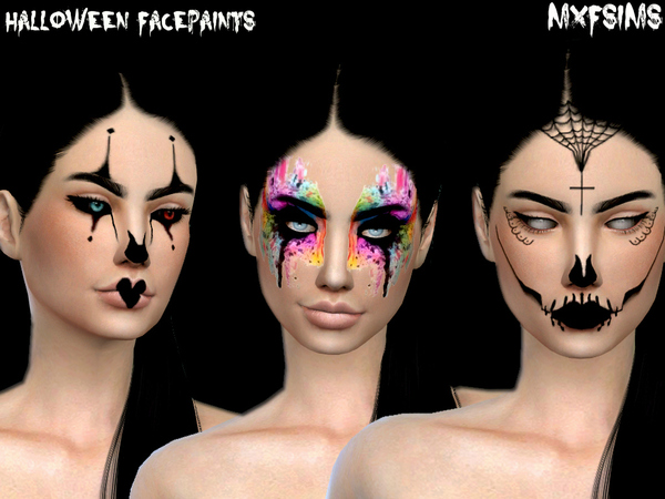 Sims 4 HALLOWEEN PACK by mxfsims at TSR