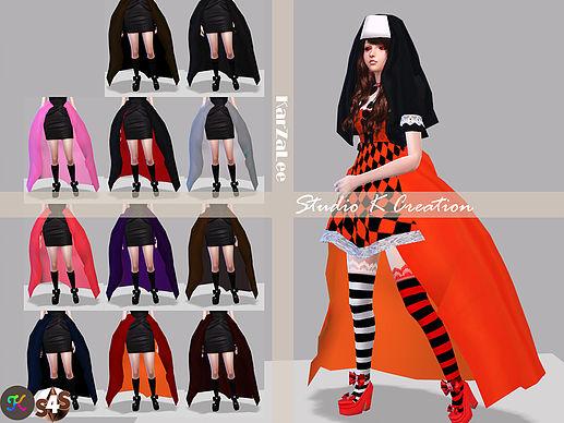 Sims 4 DarkSouls petticoat ACC at Studio K Creation
