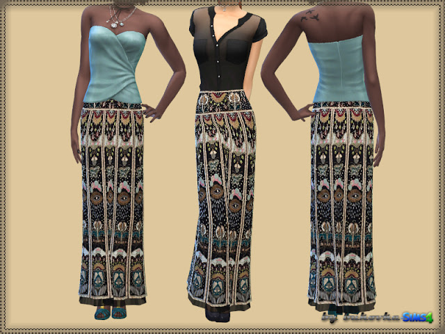 V. skirt 2 at Bukovka image 837 Sims 4 Updates