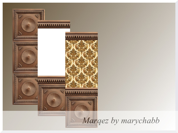 Marqez wall by marychabb at TSR image 839 Sims 4 Updates