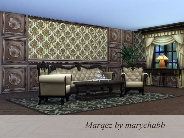 Marqez wall by marychabb at TSR image 848 Sims 4 Updates