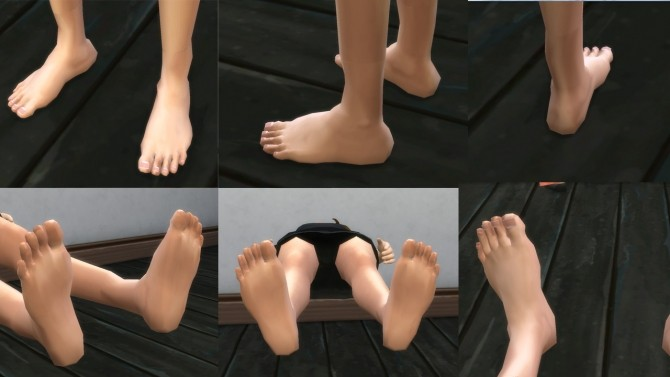 HD feet for all by necrodog at Mod The Sims image 8912 670x377 Sims 4 Updates