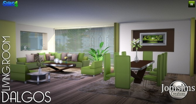 DALGOS livingroom at Jomsims Creations image 8915 670x355 Sims 4 Updates