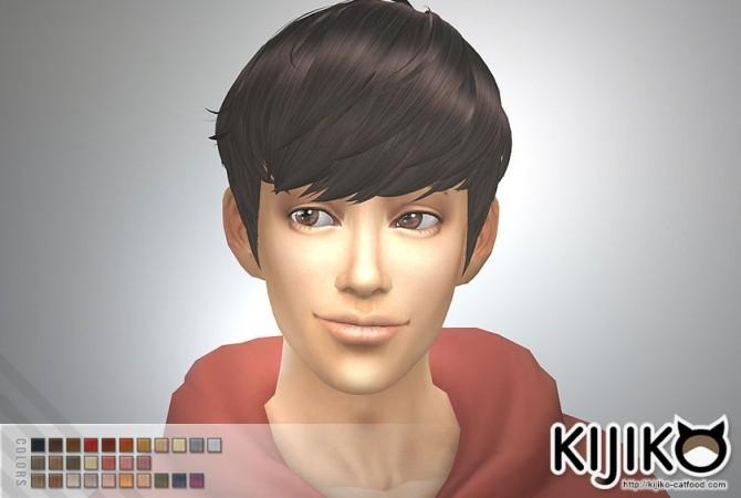 Sims 4 Osomatsu short hair at Kijiko