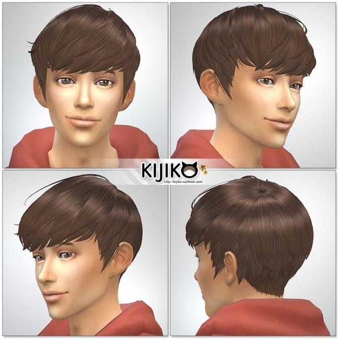 Osomatsu Short Hair At Kijiko Sims 4 Updates