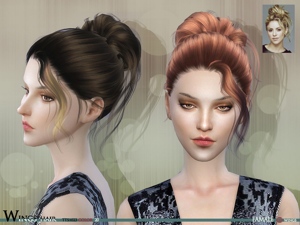 TTS1023 F hair by Wings at TSR image 9118 Sims 4 Updates