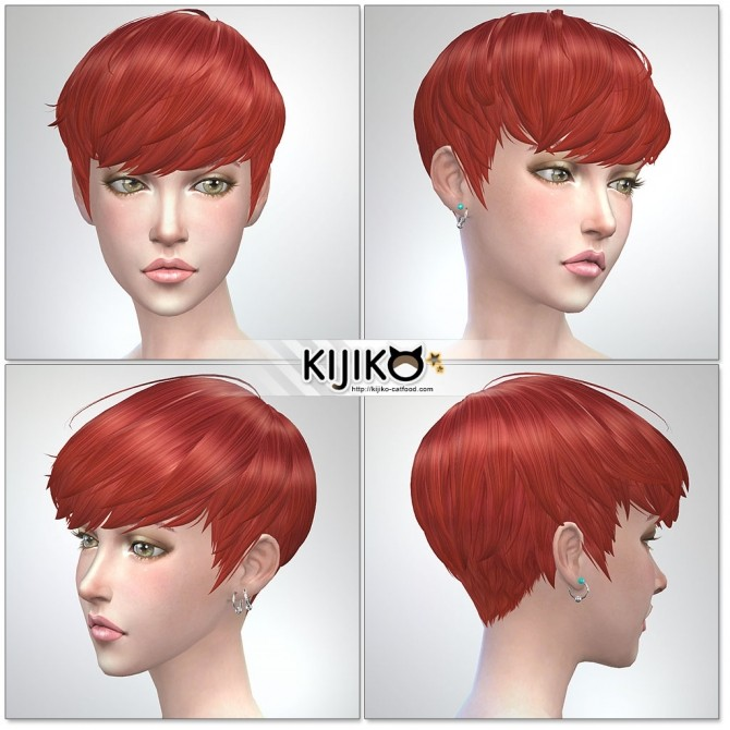 Osomatsu Short Hair At Kijiko 187 Sims 4 Updates