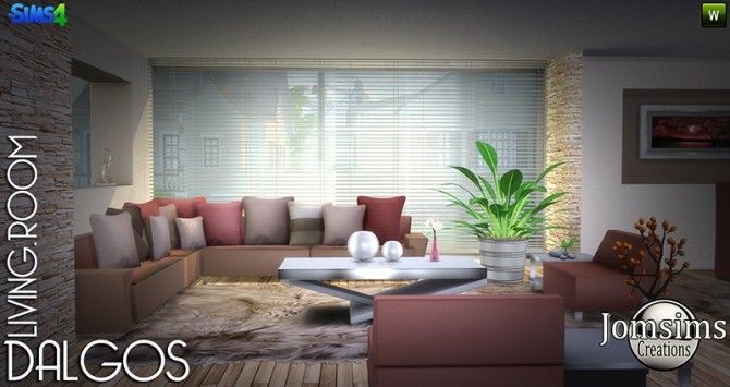 DALGOS livingroom at Jomsims Creations image 9315 670x355 Sims 4 Updates