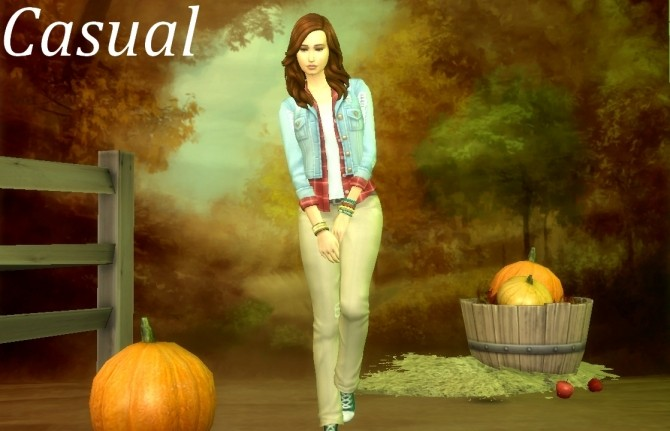 Sims 4 Elaine Linton by Flowy fan at Mod The Sims