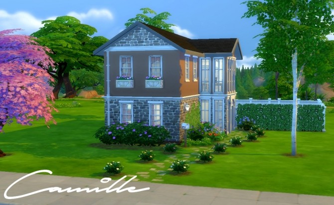 Camille family home by Flowy fan at Mod The Sims image 9412 670x413 Sims 4 Updates