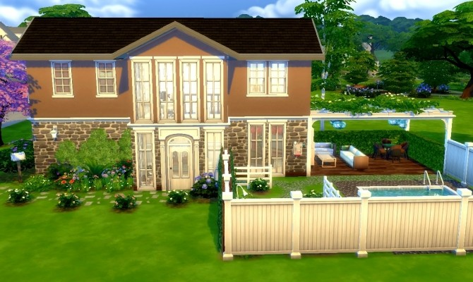 Camille family home by Flowy fan at Mod The Sims image 9511 670x400 Sims 4 Updates