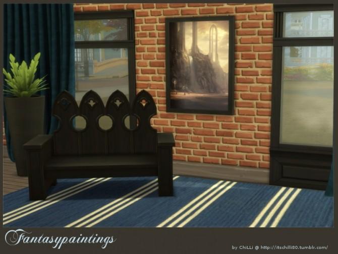 Fantasy paintings at ChiLLis Sims image 9512 670x503 Sims 4 Updates