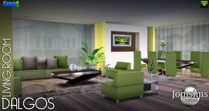 DALGOS livingroom at Jomsims Creations image 9514 670x355 Sims 4 Updates