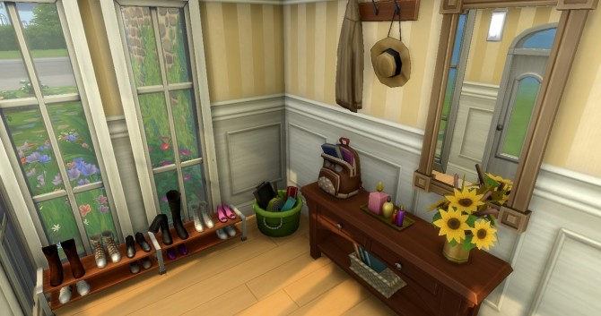 Camille family home by Flowy fan at Mod The Sims image 9612 670x353 Sims 4 Updates