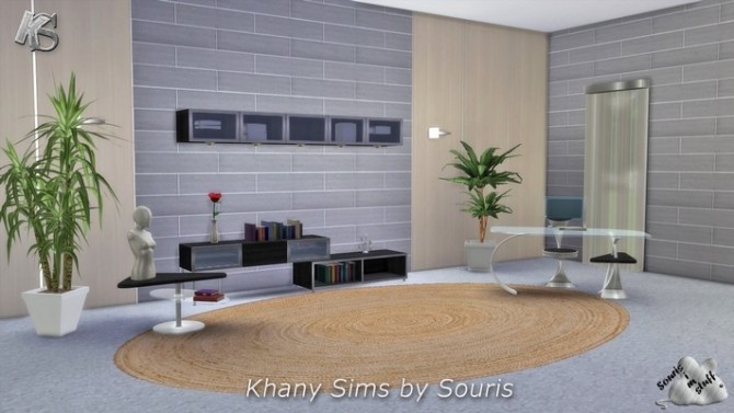 Sims 4 Gaby study by Souris at Khany Sims