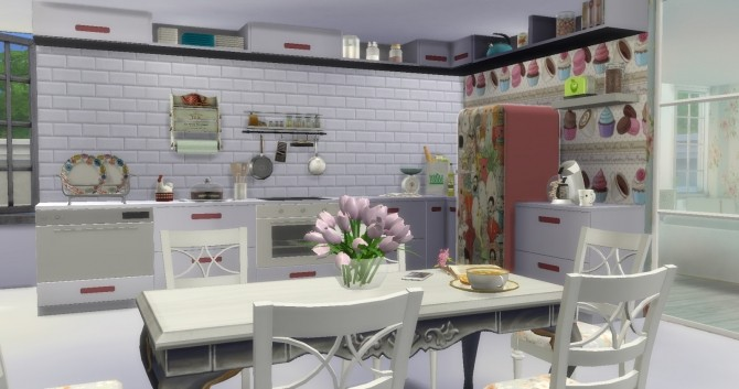 Retro House at Lily Sims image 966 670x353 Sims 4 Updates