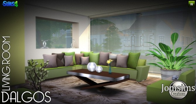 DALGOS livingroom at Jomsims Creations image 9715 670x355 Sims 4 Updates