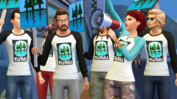 Sims 4 New Careers in The Sims 4 City Living Send You Out on Assignments at The Sims™ News