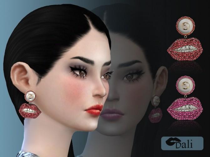 Sims 4 Dali Earrings at Giulietta