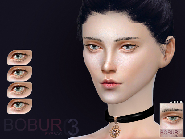 Eyebag 03F by Bobur3 at TSR image 1016 Sims 4 Updates