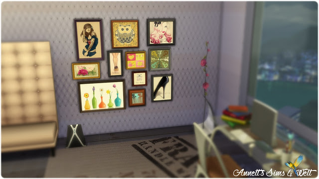 Emotions Paintings Sets at Annett's Sims 4 Welt image 1018 Sims 4 Updates