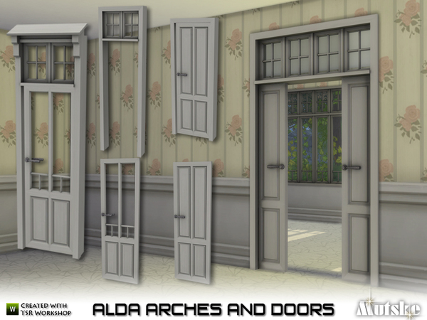 Alda Arches and Doors by mutske at TSR image 1019 Sims 4 Updates
