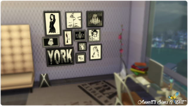 Sims 4 Emotions Paintings Sets at Annett's Sims 4 Welt