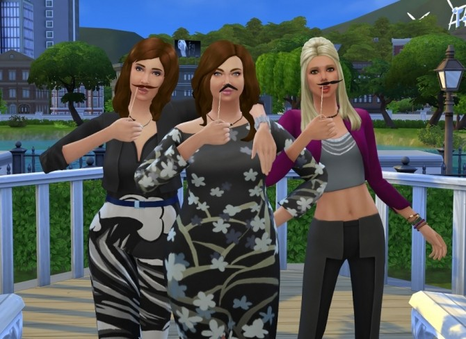 Sims 4 November Pose Pack by Delise at Sims Artists