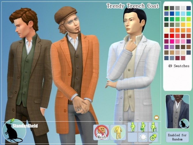 Sims 4 Fall in love Fan made Clothing Pack A part by Standardheld at SimsWorkshop