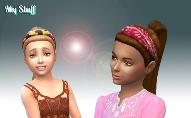 Sims 4 Headband Hair for Girls at My Stuff