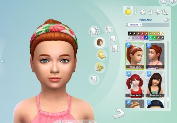 Headband Hair for Girls at My Stuff image 1093 670x468 Sims 4 Updates
