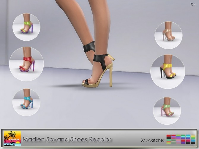 Madlen Savana Shoes Recolor at Elfdor Sims image 1094 670x502 Sims 4 Updates